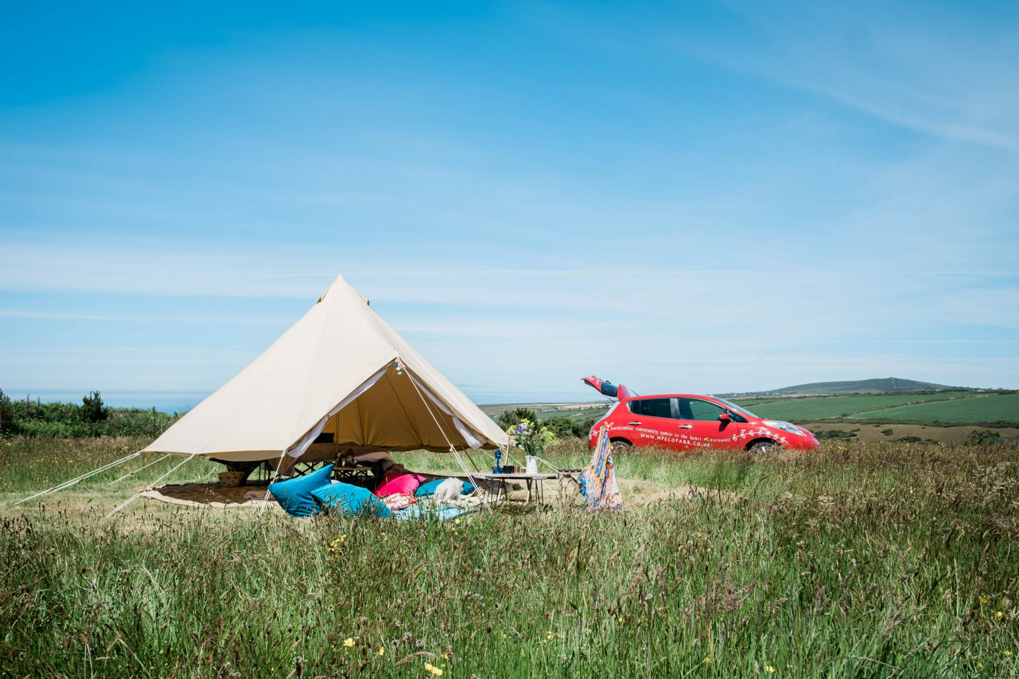 Campsites in Porthtowan – Cool Camping