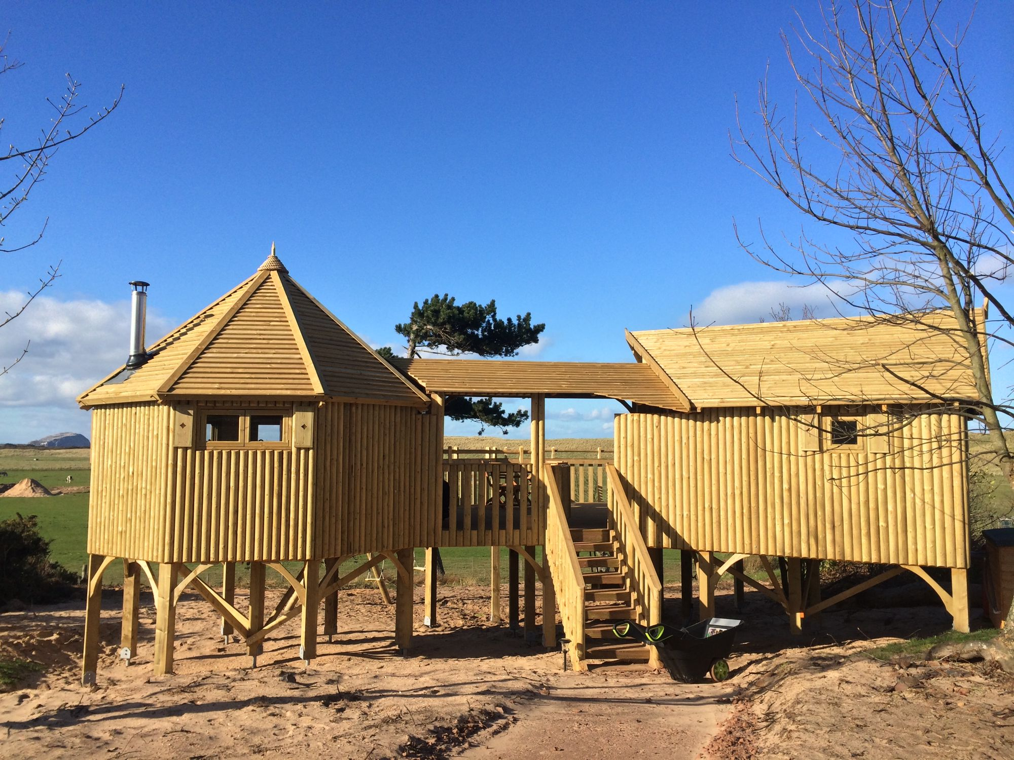 Glamping in Lothian holidays at Cool Places
