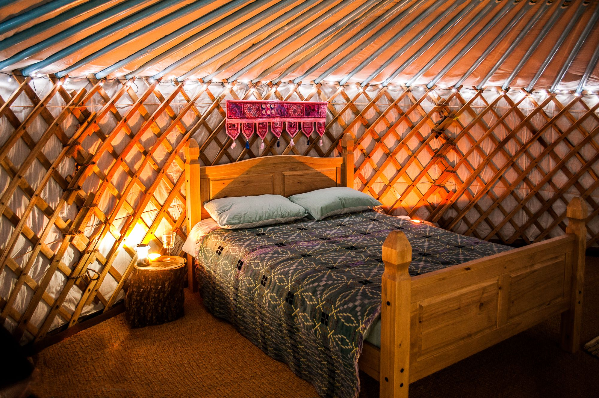 Ffrith Galed Yurts