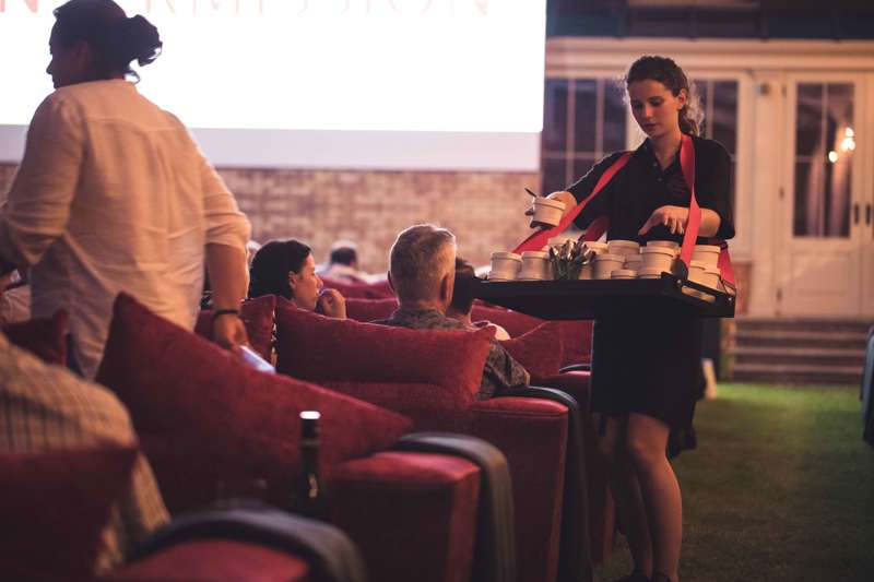 Win tickets to a Gourmet Movie Night!