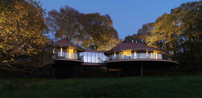 Chewton Glen & Treehouses Chewton Glen Hotel & Spa - New Forest, Hampshire, England, UK BH25 6QS