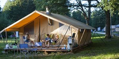 Cosy Wood & Canvas Tent