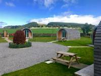 Glamping pods set in a welcoming Pennines pub