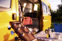 Bumblebee, Cornwall, from Quirky Campers