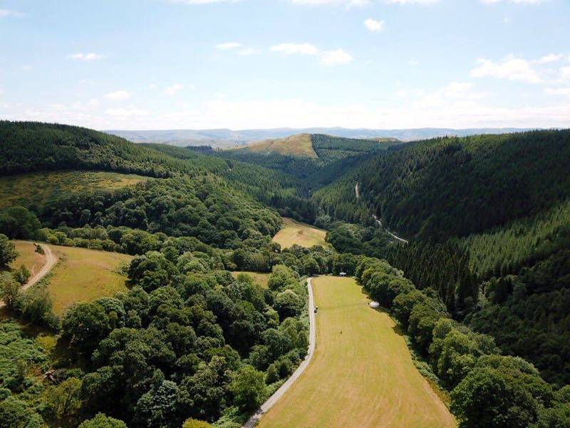 Eco Retreats Forest Retreat Near Machynlleth, Powys SY20 9HA