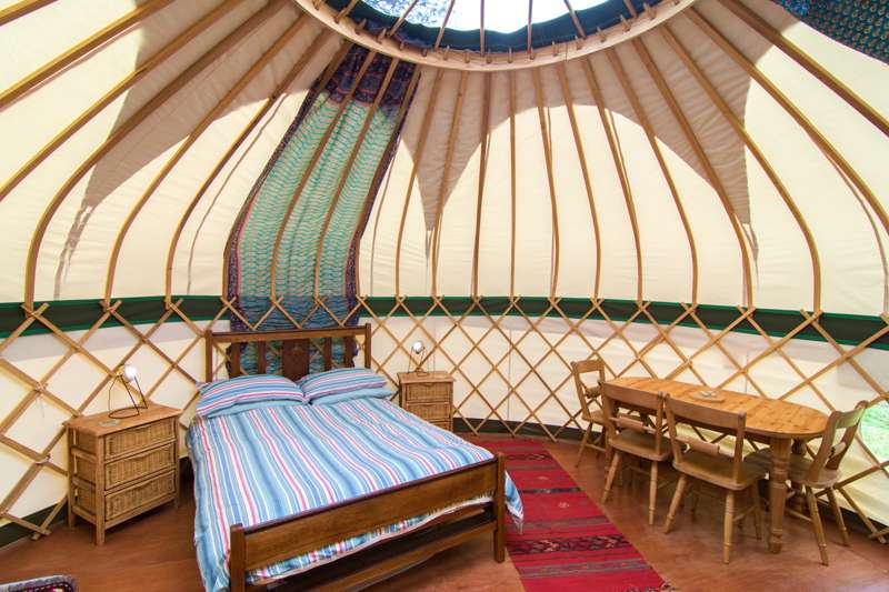 Tregonna King Yurt