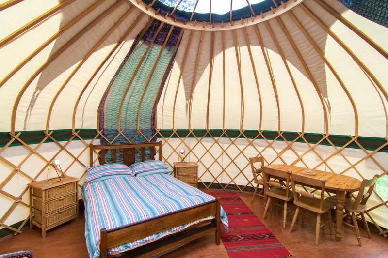 Tregonna King Yurt