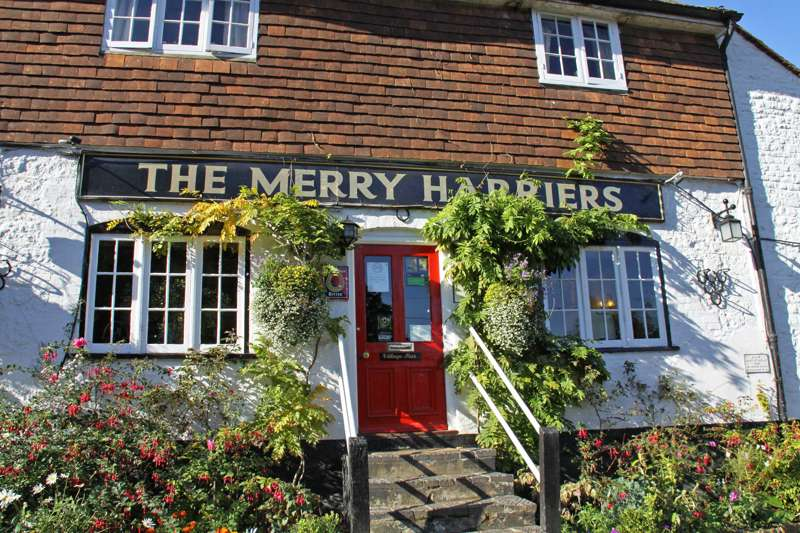 The Merry Harriers Merry Harriers, Hambledon Road, Hambledon, Surrey GU8 4DR