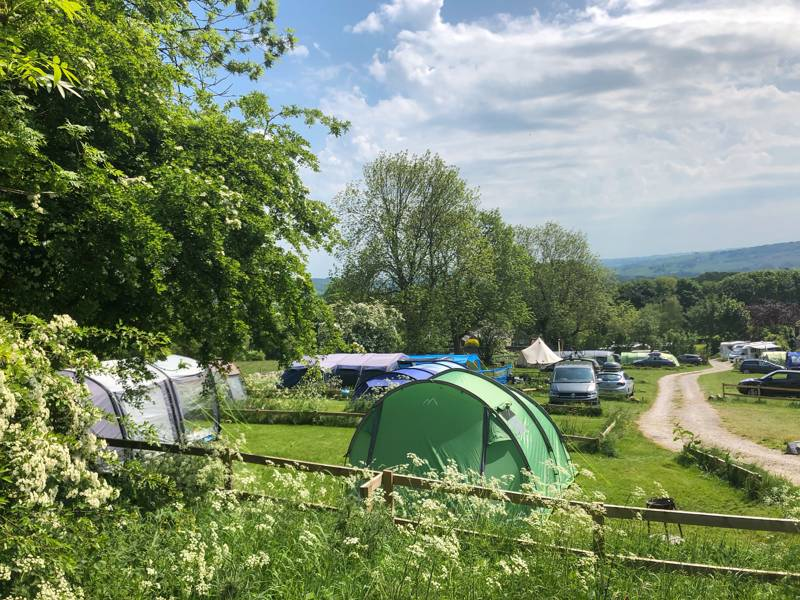 Dale Farm Rural Campsite Dale Farm, Moor Road, Great Longstone, Derbyshire, DE45 1UA