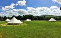 Private Bell Tent Group Bubble