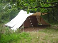 Secluded camping pitch 2 - Adults only