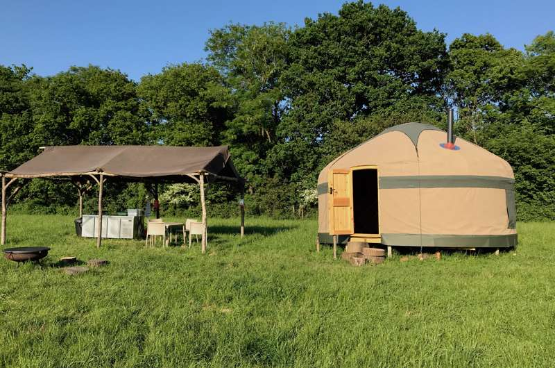 Free Range Glamping Bore Place, Bore Place Road, Chiddingstone, Edenbridge TN8 7AR