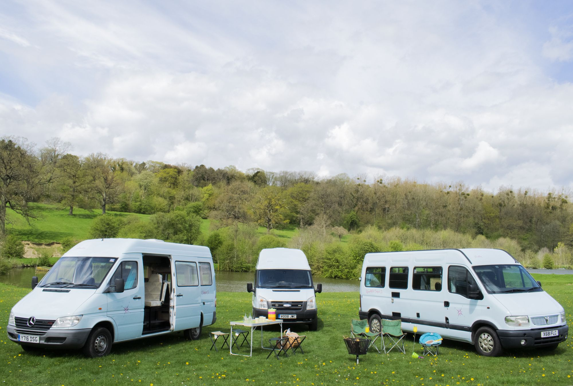 Campervans in England holidays at I Love This Campsite