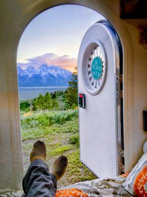 The Best Blogger's Campervan and Caravanning Shots from Around the World