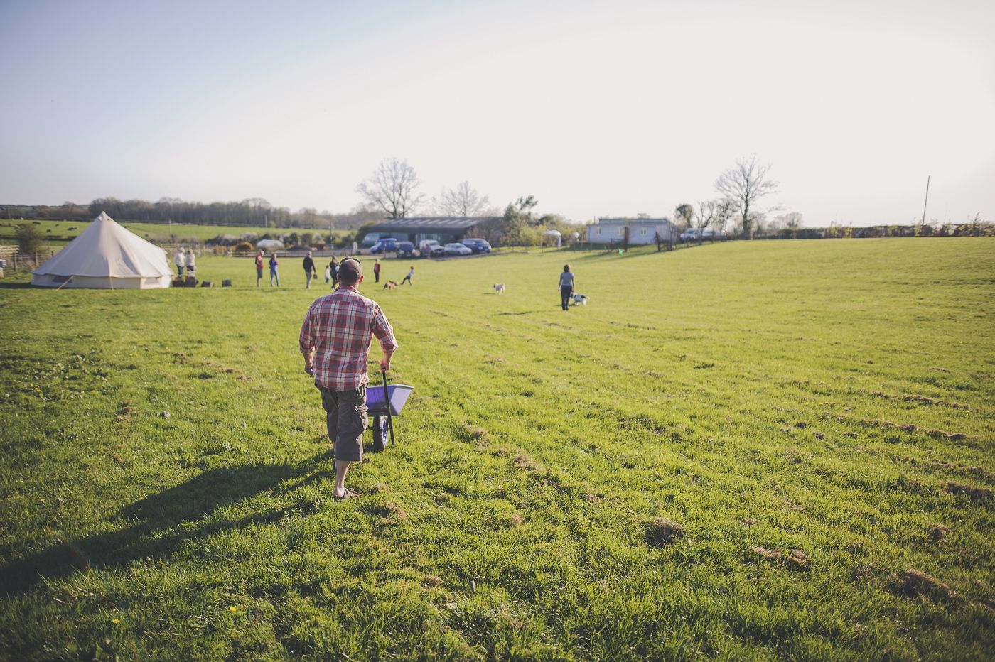 Campsites in Pembroke holidays at Glampingly