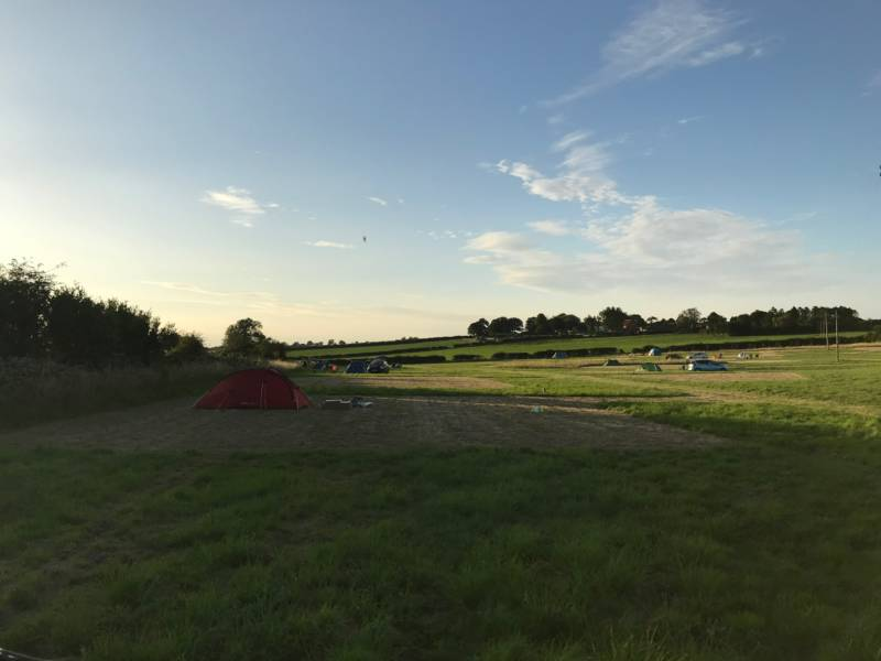 Meadow Camping Docking Road, Great Bircham, Norfolk
