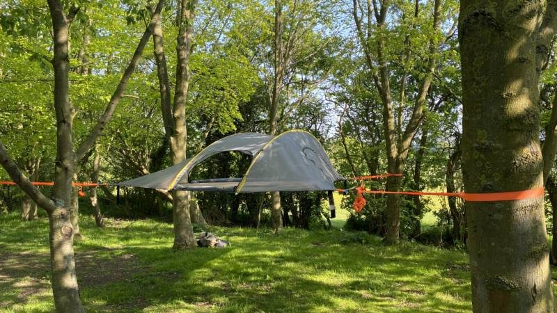 Family Suspended Tree Tent