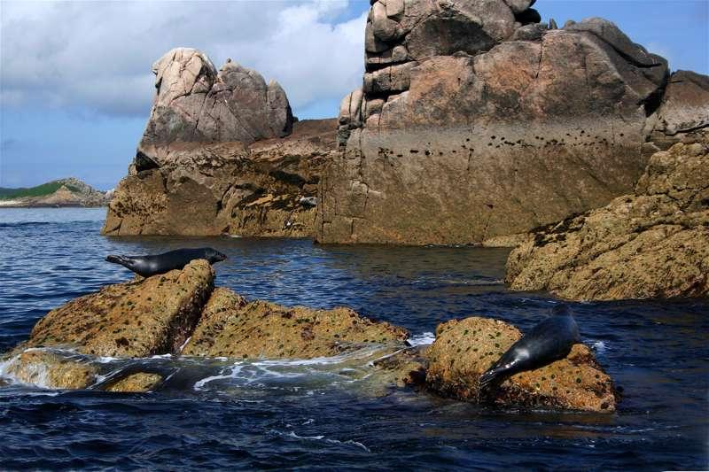 Bishops Rock Lighthouse & the uninhabited islands