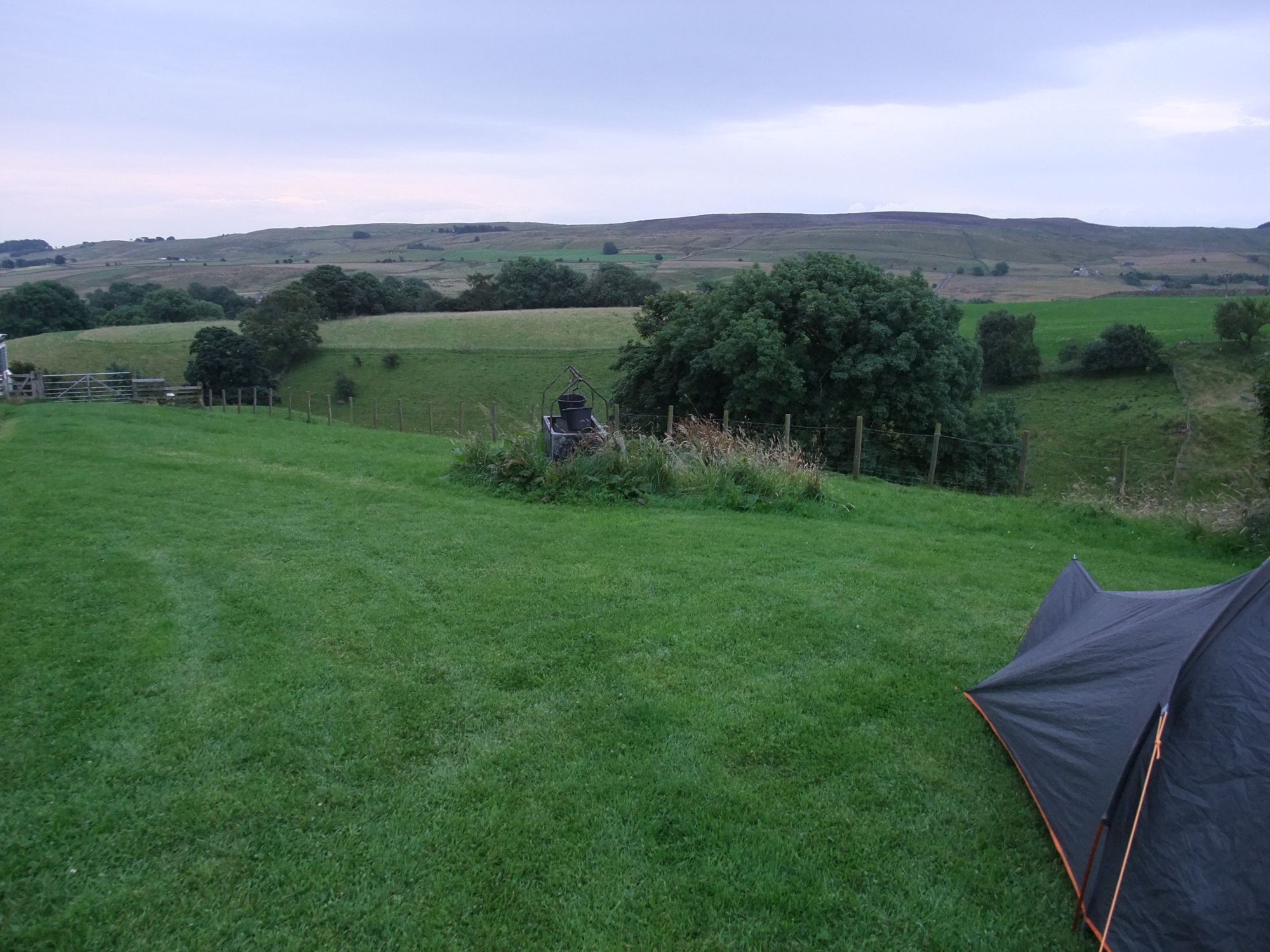Campsites in the North Pennines Area of Outstanding Natural Beauty
