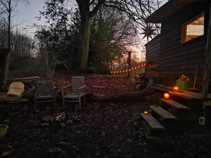 Wendy's House - woodland cabin