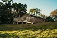 Luxury safari lodge deep in the Devon countryside