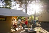 Classic V Wood & Canvas Tent