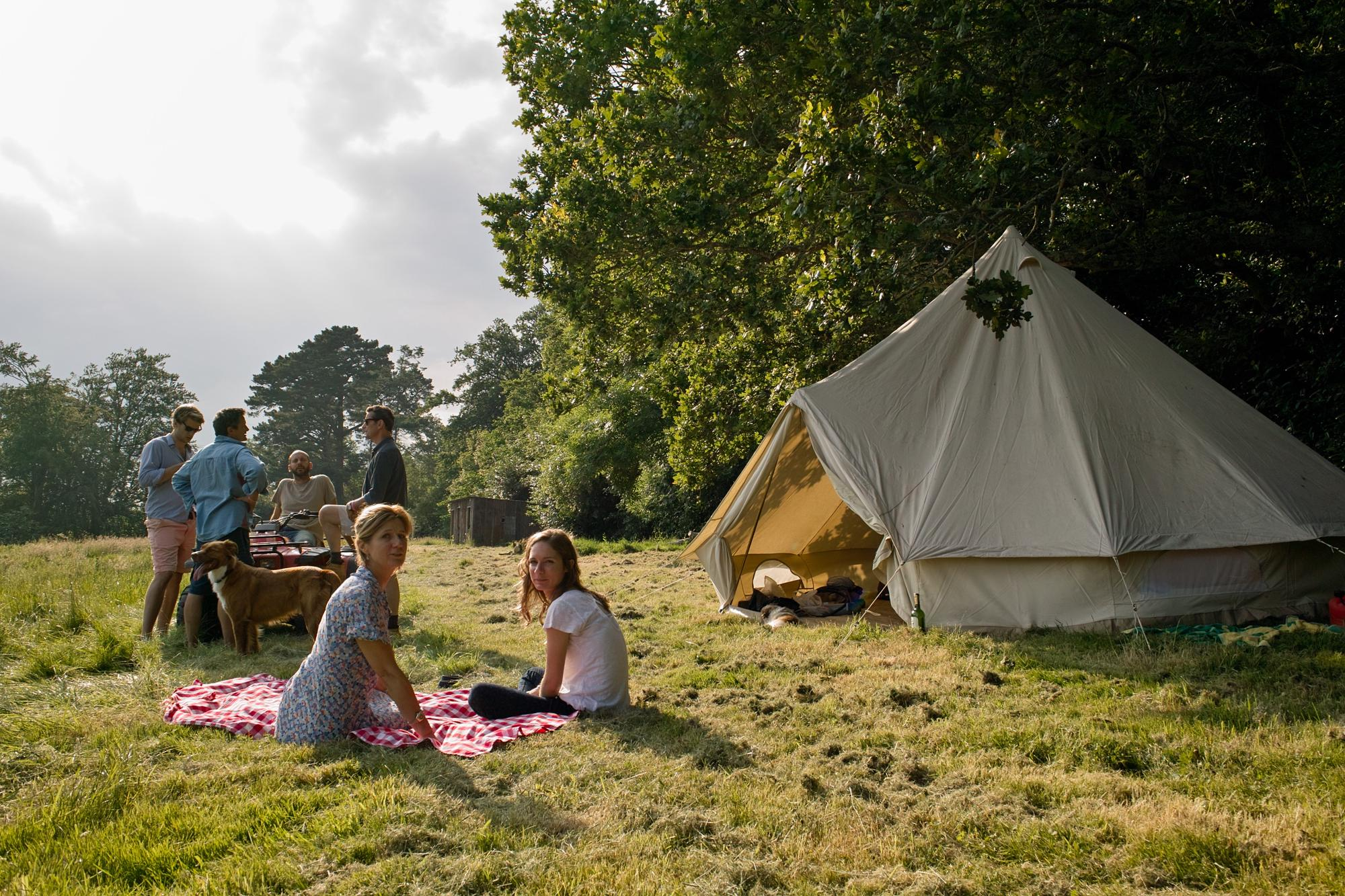 Camping in England - Camping and Campgrounds in England