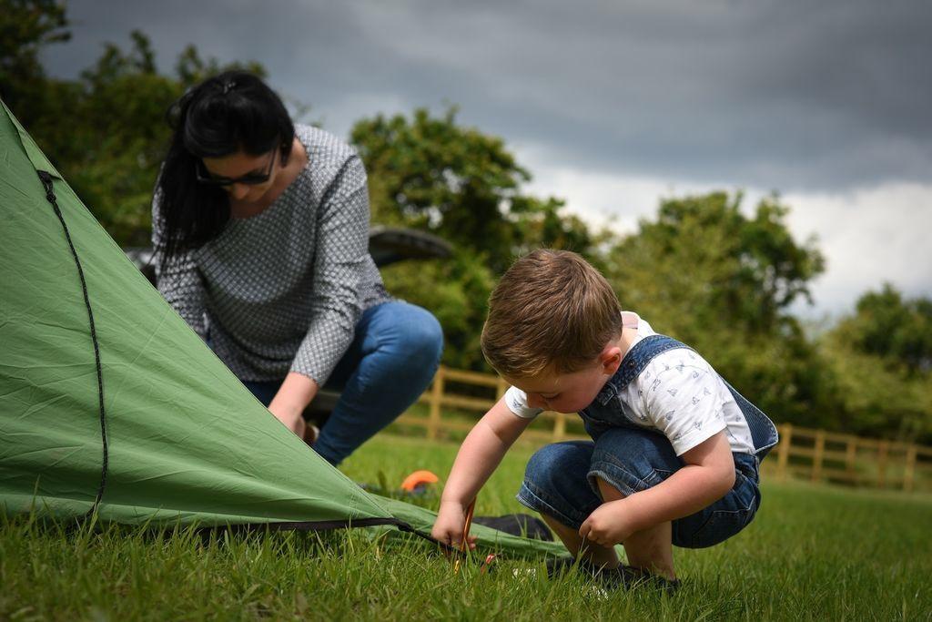 Campsites in Norfolk
