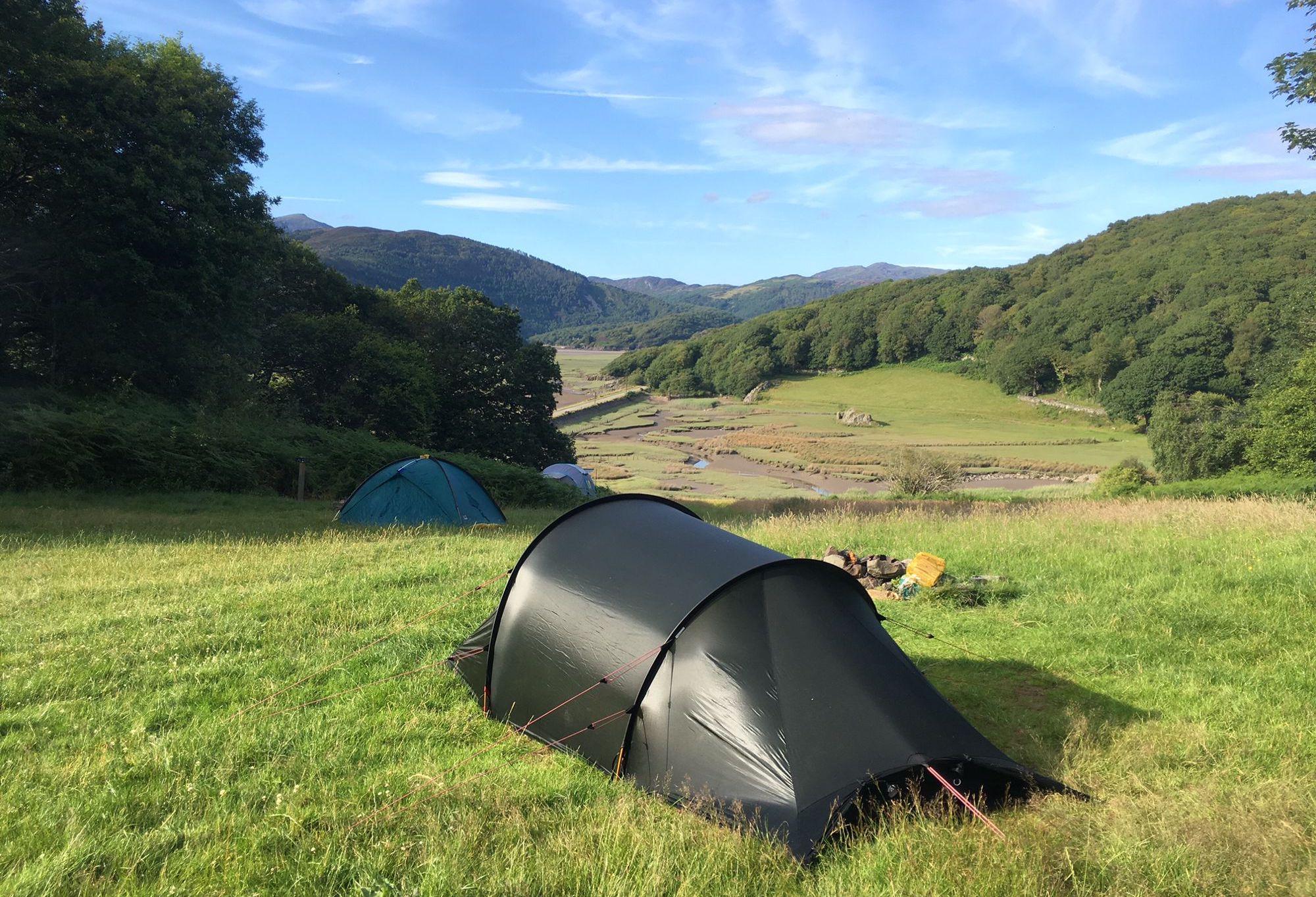 Graig Wen Campsite, Wales