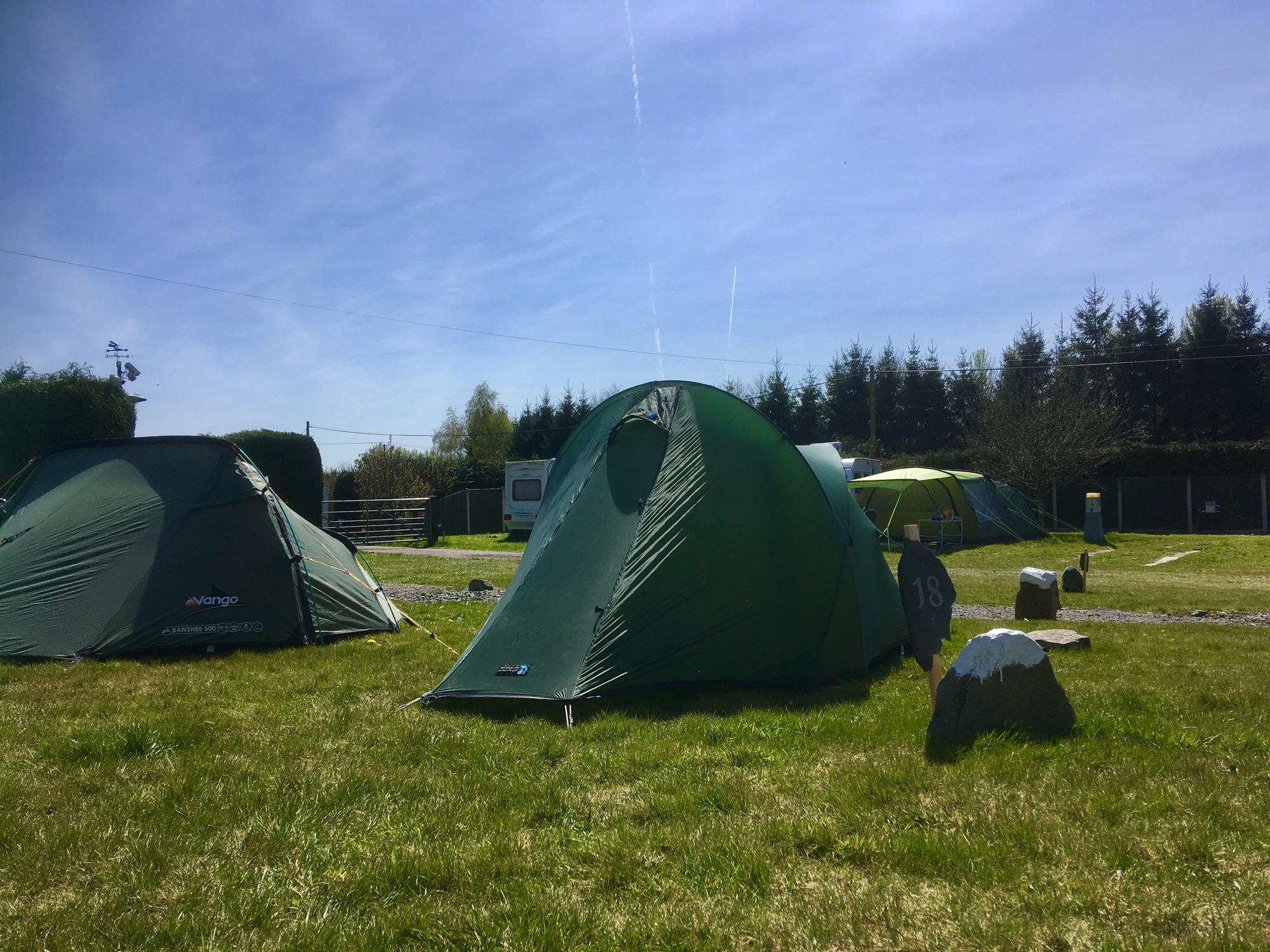 Campsites in Church Stretton holidays at Cool Camping