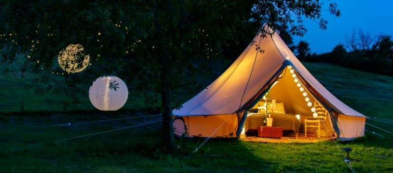 Lloyds Meadow Lloyds Meadow Glamping, Delamere Road, Mouldsworth, Chester, Cheshire CH3 8BD