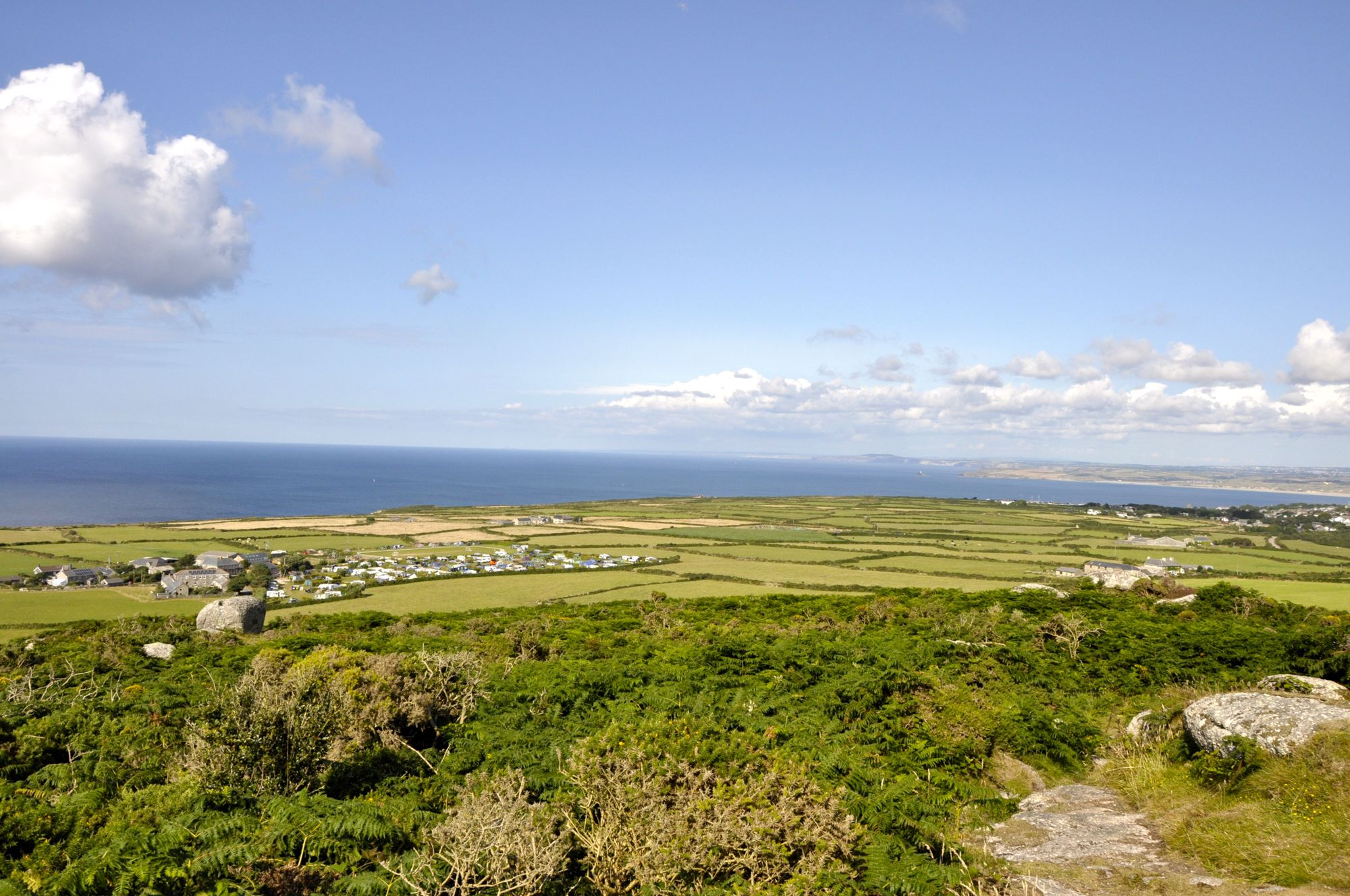 Spectacular views and a wonderfully peaceful atmosphere, located just two miles from the sandy beaches of St Ives.