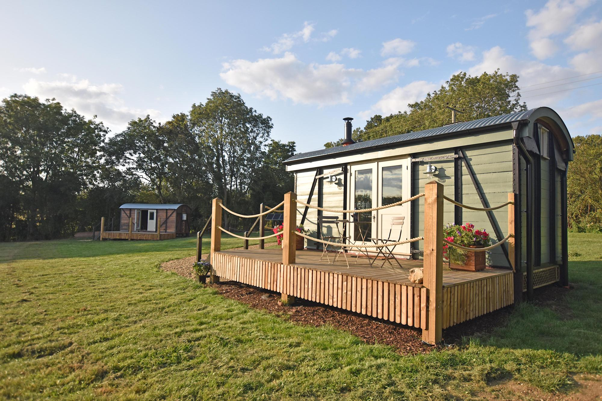 Campsites in Norfolk holidays at Glampingly