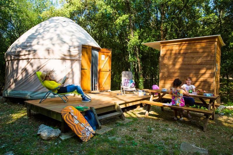 Family Yurt (pets prohibited)