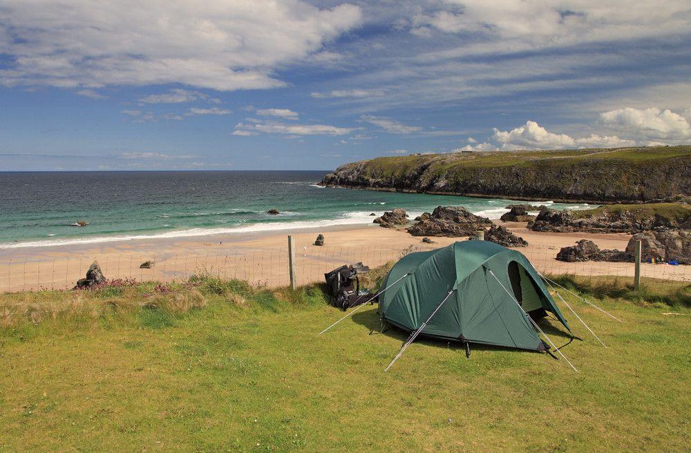 Campsites in North Scotland