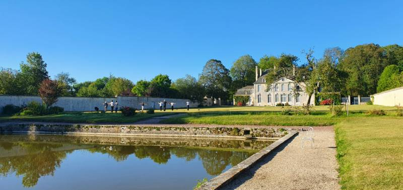 Camping le Château de Martragny