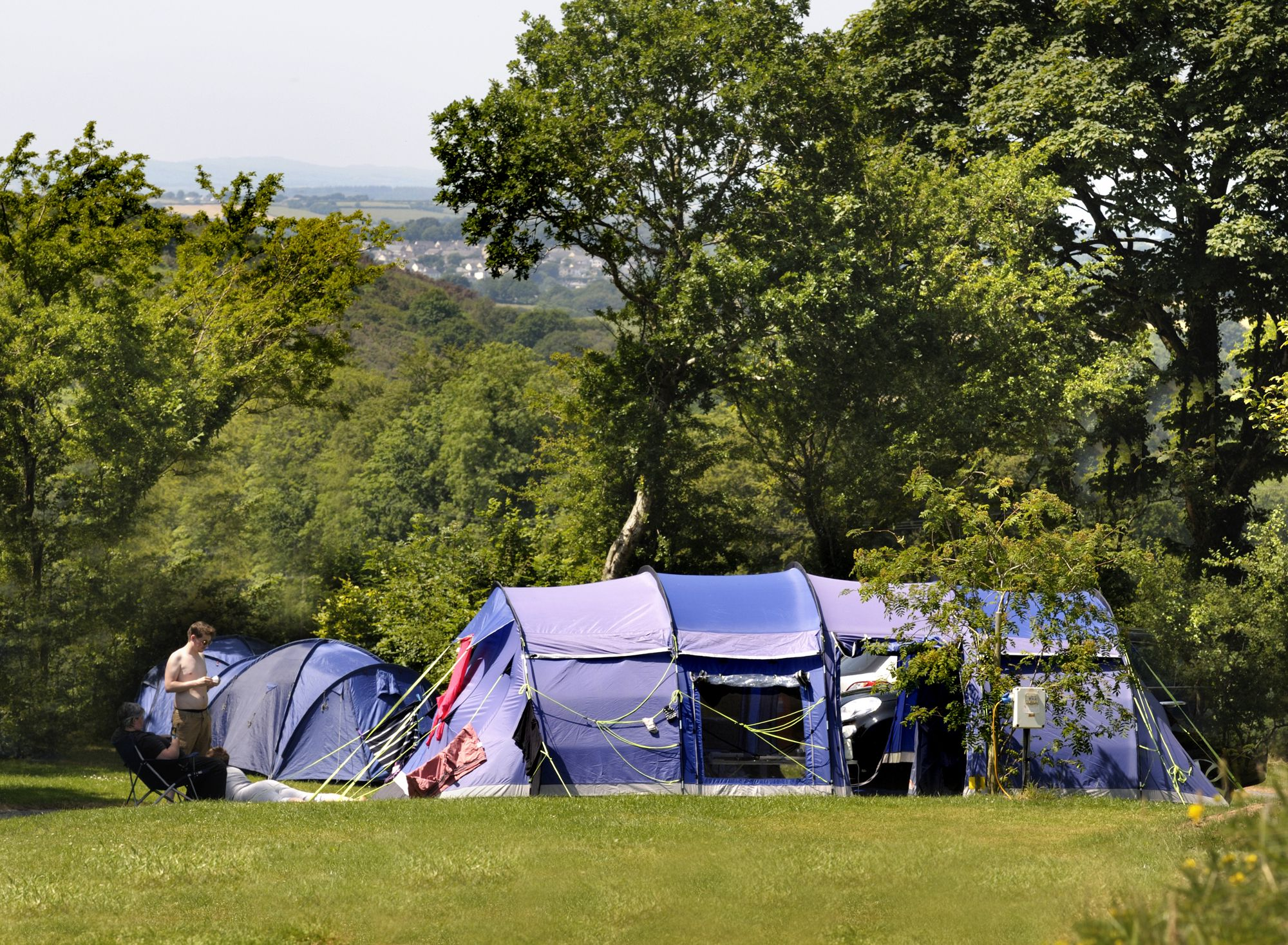 There's a peaceful atmosphere here, with pitches offering wonderful views across the fascinating landscape of Dartmoor.