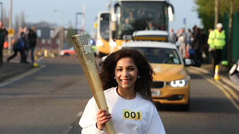 Olympic Flames come to Cornwall