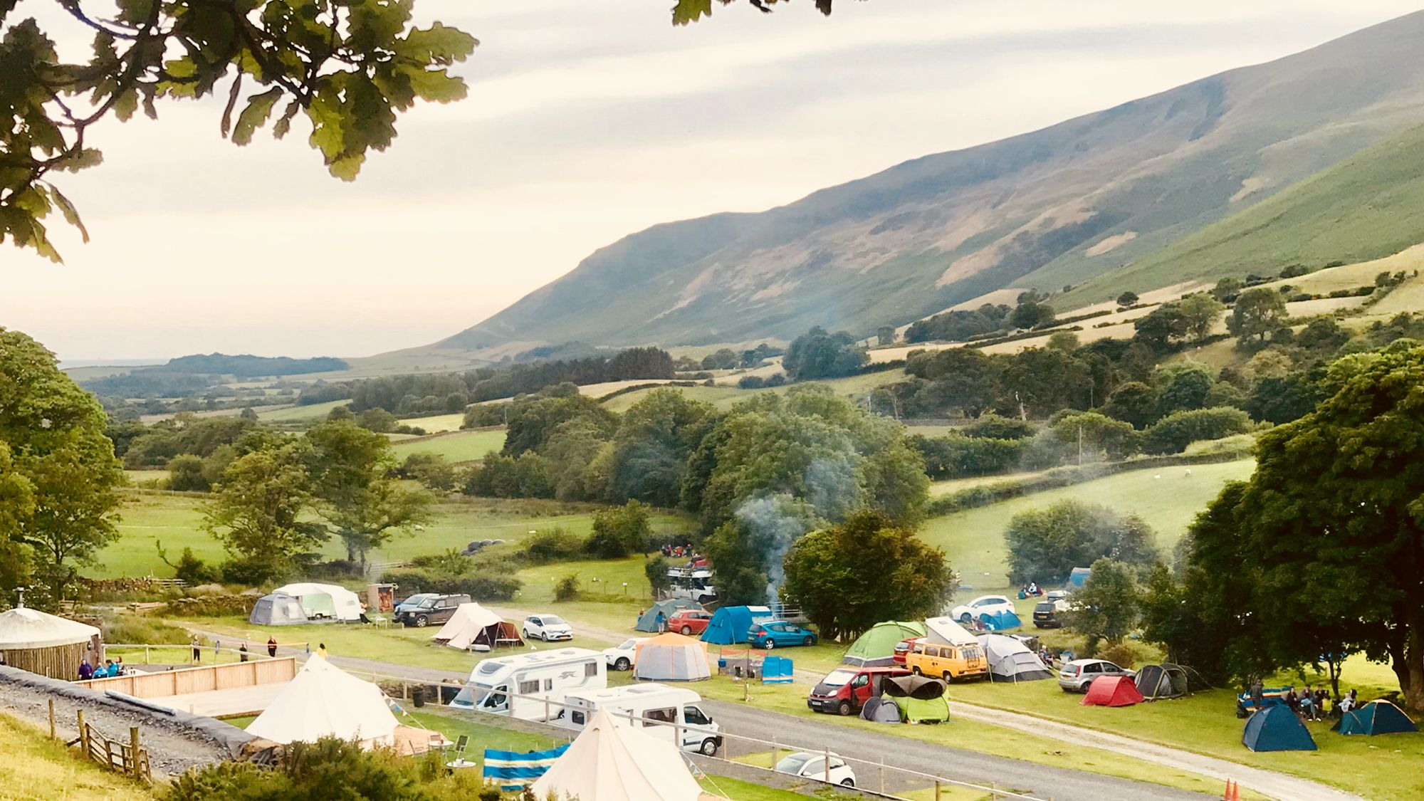 Campsites in Ulverston holidays at Cool Camping