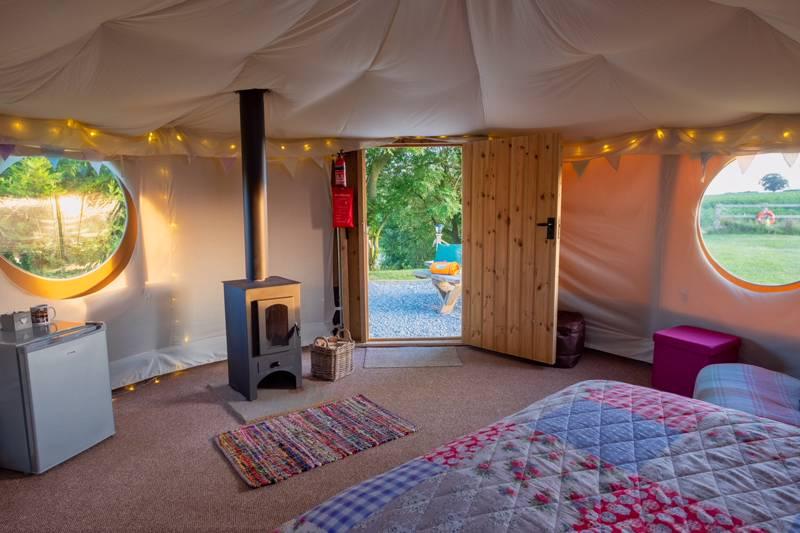 Lily Pad Yurt