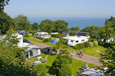 A beautiful seafront campsite on the Normandy coast, with plenty more to offer than just its ferry-friendly location.