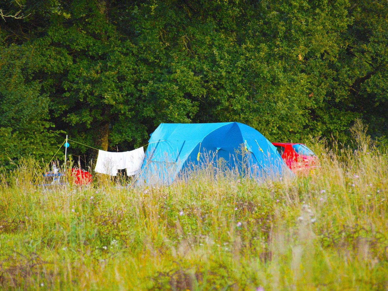Adult-only campsites