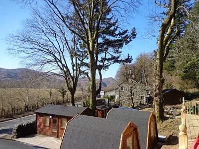 Bryn Dinas Camping Pods Red Dragon Holidays, Bryn Dinas, Nantgwynant, nr Beddgelert, Caernarfon, Gwynedd LL55 4NH