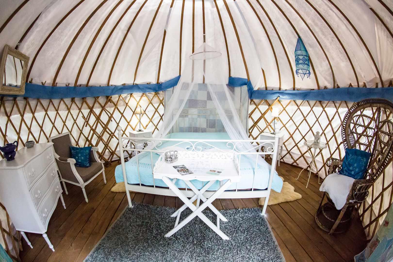 Romantic Yurt 8 at Mille Etoiles - Cool Camping (2435)