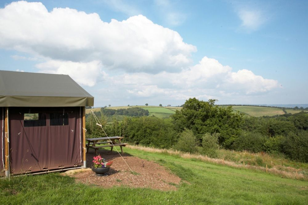 Campsites in Cullompton holidays at Cool Places