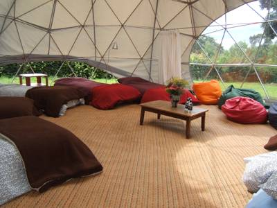 Riverside camping and glamping in an SSSI on the edge of the River Wye where nature abounds.