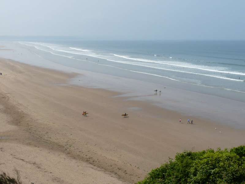 Saunton Beach and Braunton Burrows