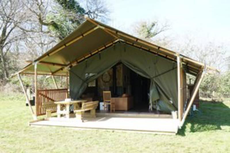 Goshawk luxury canvas lodge