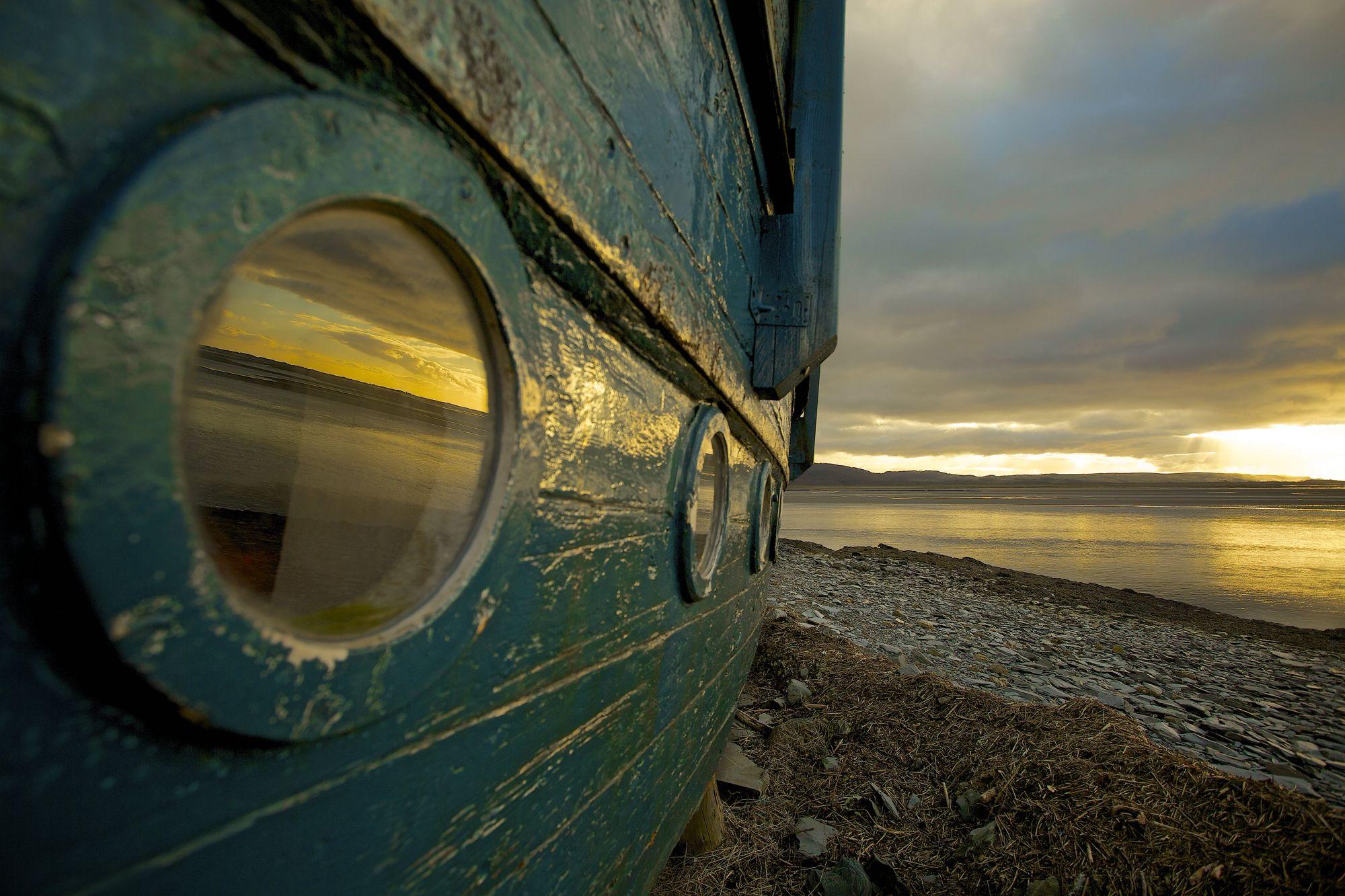 Smugglers Cove Boatyard, Snowdonia