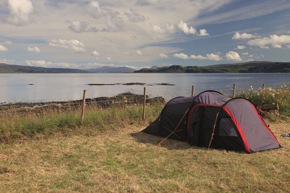 Campsites on the West Coast of Scotland